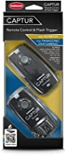 Hahnel -CAPTUR Captur Remote Camera Flash Trigger  Transmitter Receiver for Olympus Panasonic  Black