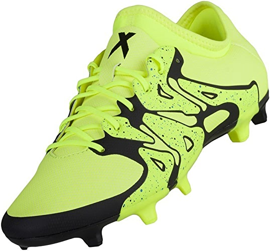 Adidas X 15.2 FG AG Chaussure Homme Jaune Taille