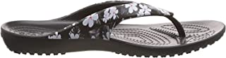 crocs Women's Kadee II Seasonal Flip W Multicolor Flops-6 UK (W8) (205635-98F-W8)