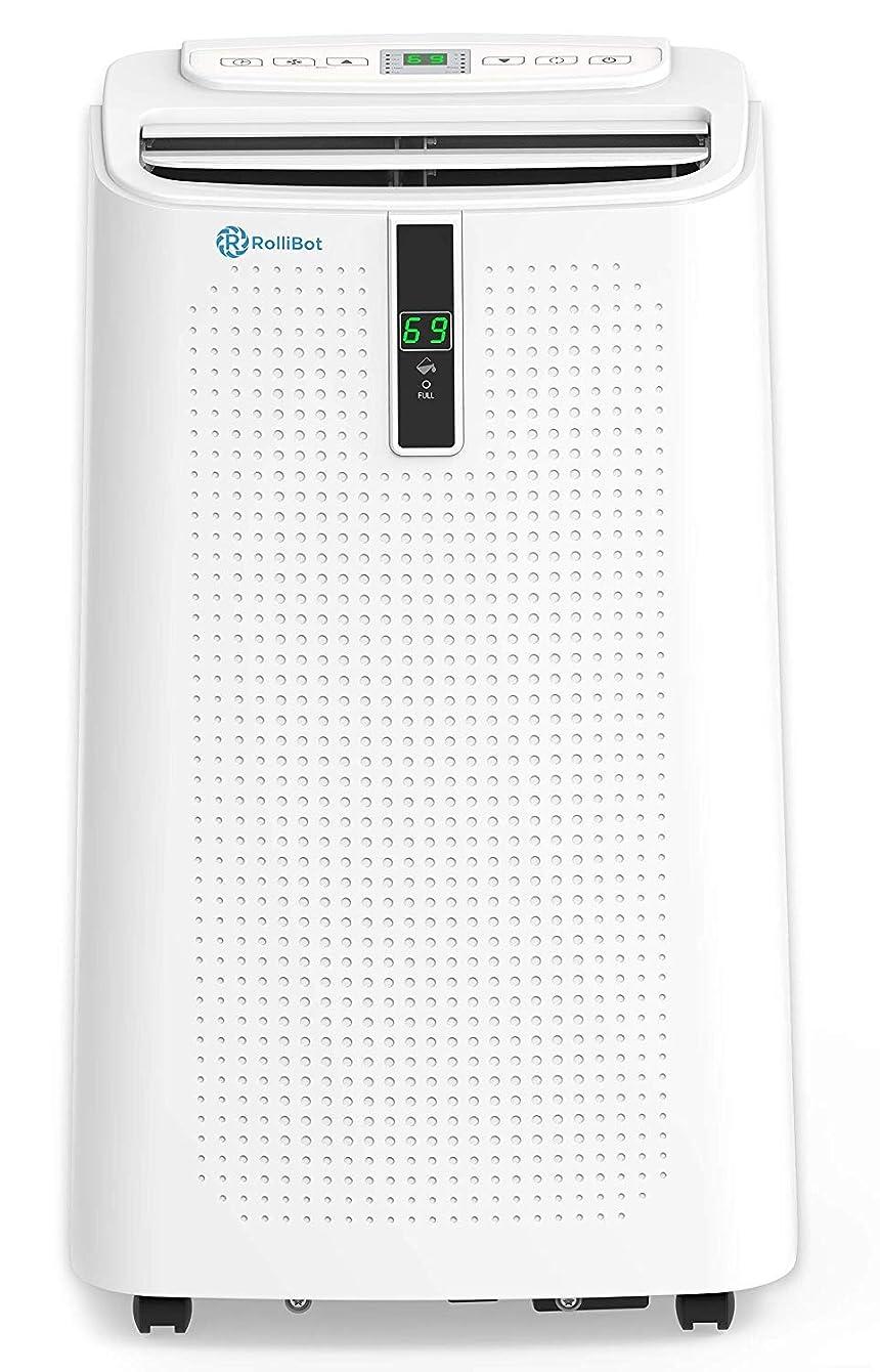 RolliCool Alexa-Enabled Portable Air Conditioner 12,000 BTU AC Unit with Heater, Dehumidifier, Fan, Mobile App (COOL310-19) qoxyckyruypzc76