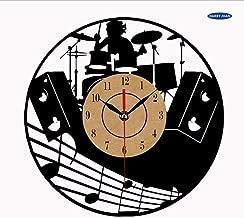txyang Vinyl Disc Clock Theme Art CD Clock Watch Creative Clock Home12 Inch