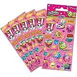Shopkins 01.70.15.032 Partygröße Sticker Pack (6 Blatt)
