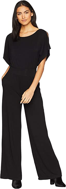 Hottie Off Duty Rayon Spandex Jumpsuit