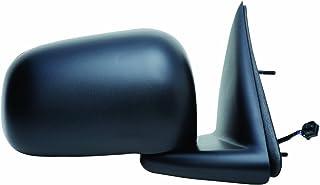 Fit System Passenger Side Mirror for Dodge Dakota Pick-Up, Mitsubishi Raider, Textured Black, Foldaway, 6x9, Heated Power