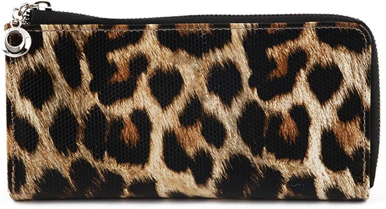 Girls Purse Women's Wallet,Ladies Wallet Large Zip Zipper Hand Bag Pu Leather (color   A)