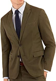 Red Fleece Men's Cotton Blend 2 Button Sports Coat Blazer...