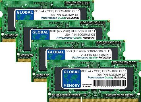 GLOBAL MEMORY Memorycity - Memoria RAM DDR3 PC3-12800 de 2,4