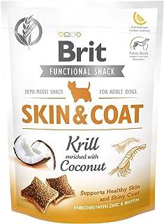 Brit Care Skin Coat Hindistan Cevizi Deri Ve Tüy Sağlığı Tahılsız Köpek Ödülü 150 G