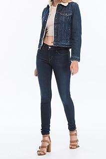 Levi's 710 Super Skinny Novelty Indigo Skinny Kot Pantolon Kadın
