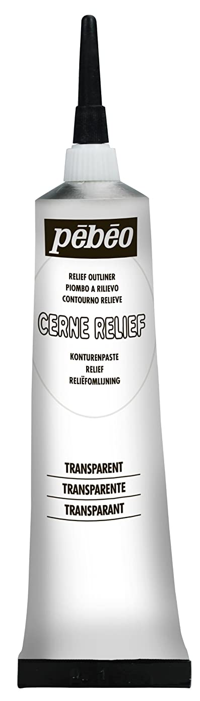 Pebeo 773637 Cerne Relief 37 ml Transparent