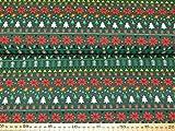 Jersey Stoff - Weihnachten - Baumwolljersey Meterware