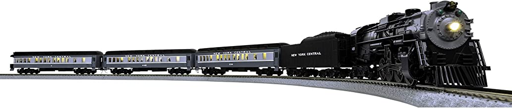 Lionel New York Central Waterlevel Limited LionChief 2-8-4 Set with Bluetooth Capability, Electric HO Gauge Model Train Se...