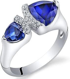 Best trillion cut blue sapphire Reviews