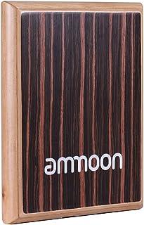 ammoon Caja Cajon Estándar para Adultos GECKO L03 Mochila Mochila 600D 5MM Acolchado de Algodón con Asa de Transporte Bandolera de Ammoon (Cajón 3)