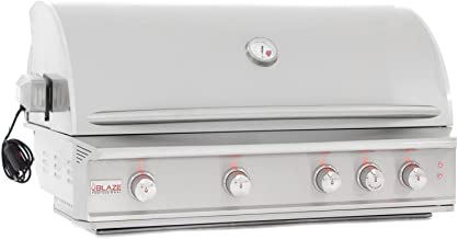 Blaze Professional 44-inch Built-in Propane Or Natural Gas Grill With Rear Infrared Burner & Rotissere - BLZ-4PRO-LP Or BLZ-4PRO-NG - FREE Grill Cover (44