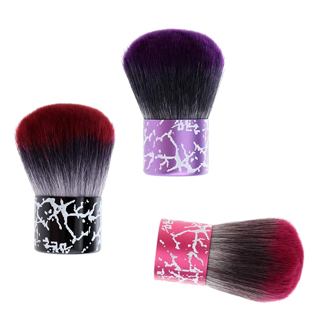 汚染聖人オペラDYNWAVE 3個入 ヘアブラシ 理髪 ネック フェイス ダスターブラシ クリーニング ヘアブラシ ヘアスイープブラシ