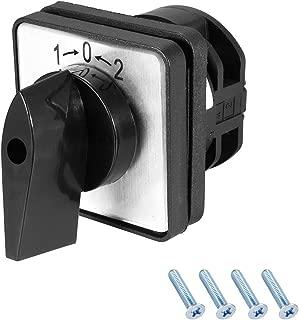 Gebildet 10 Piezas Interruptor de bot/ón a Prueba de Agua Interruptor de bot/ón de Acero Inoxidable moment/áneo Encendido Apagado 12mm 5A 250VCA Cabeza Alta