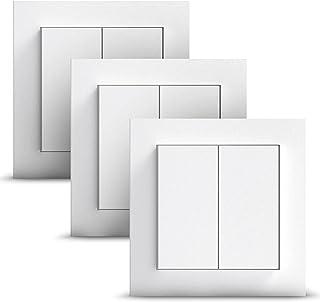GIRA + Senic Friends of Hue Smart Switch | Compatibel met Philips Hue (Geen batterijen, niet opladen) | Draadloze Homekit ...