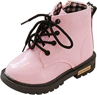 BaZhaHei Zapatillas de Niños Niña Bebé Botas de otoño e