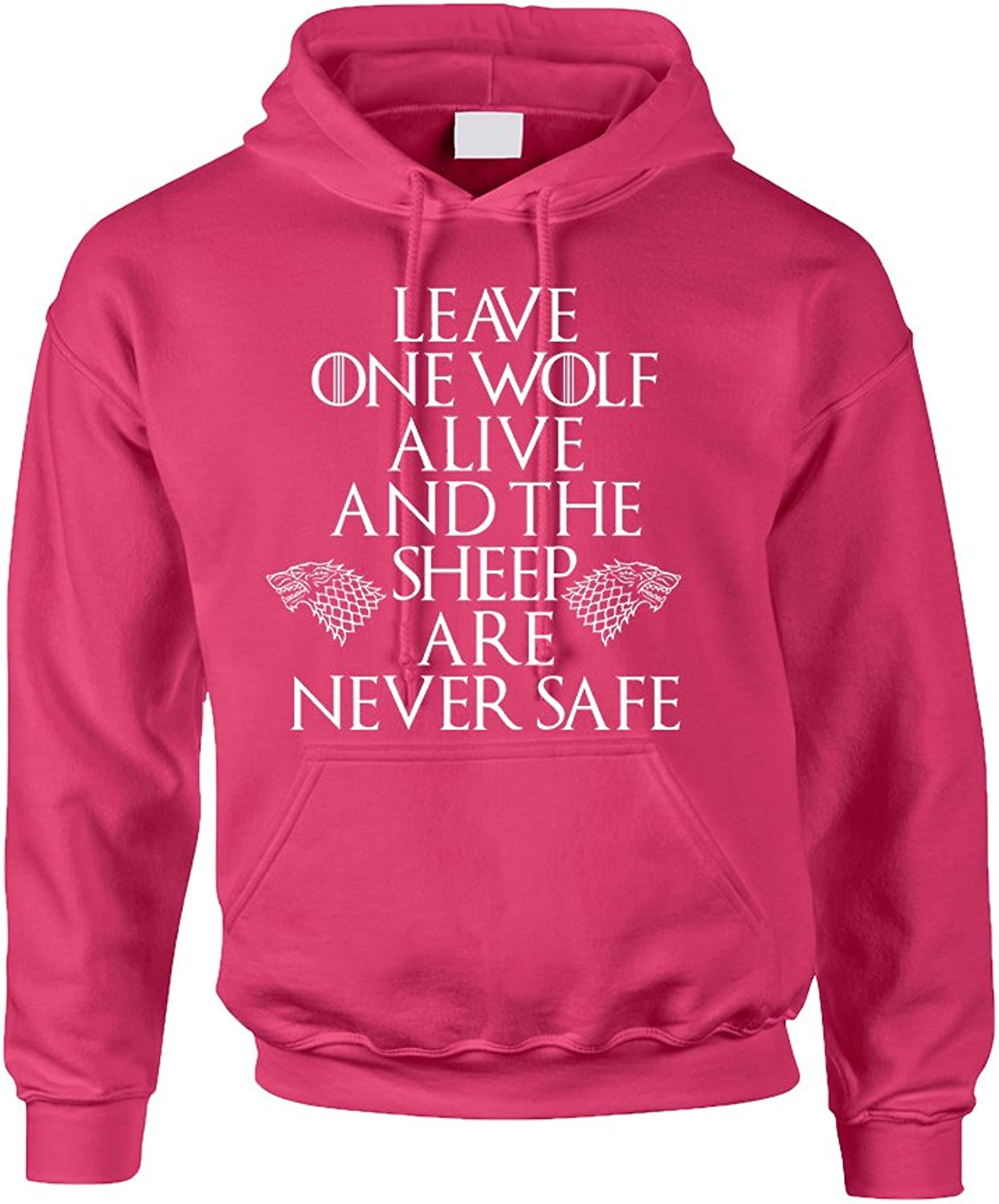 Allntrends Adult Hoodie Leave One Wolf Alive The Sheep are Never Safe