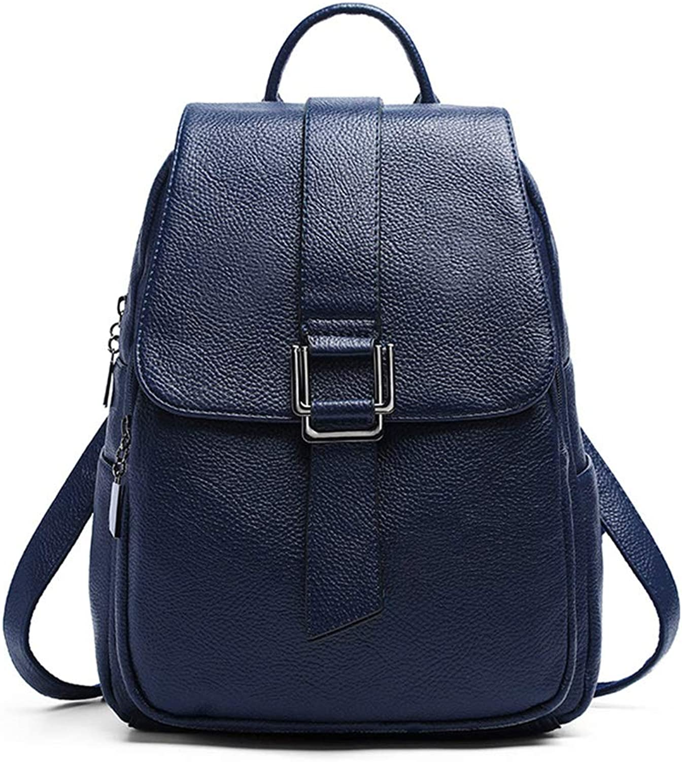 Ladies leather backpack casual backpack fashion shoulder bag travel bag mini backpack wallet
