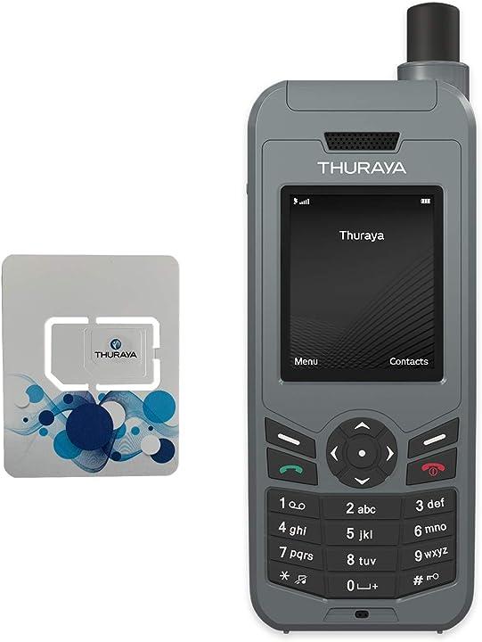 Telefono satellitare thuraya xt-lite con sim nova 20 unità e 24 mesi di validità B07DTJD22N