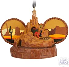 Disney Theme Parks Big Thunder Mountain Railroad Mickey Mouse Ears Hat Ornament