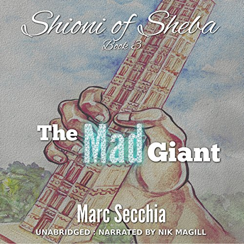 The Mad Giant audiobook cover art