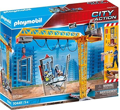 PLAYMOBIL City Action 70441 RC-Baukran...