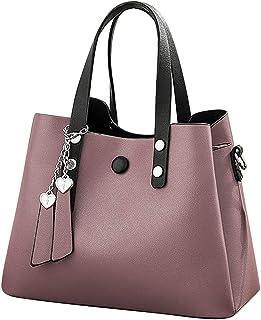 9d35fd9ee1 TOPKDEAL sac a main femmes,Fourre-tout en cuir sac porté épaule Porte  Monnaie
