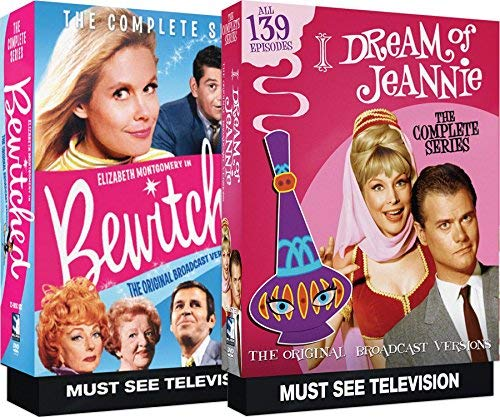 I Dream of Jeanie Complete Series + Bewitched Complete Series Bundle