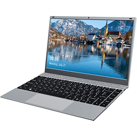 KUU XBook Ordenador Portátil 14.1'', Notebook Inter Celeron J4115, 8GB RAM DDR4 256GB SSD, Monitor de PC portátil FHD con USB 3.0 y Bluetooth 4.0, portátil con Windows 10