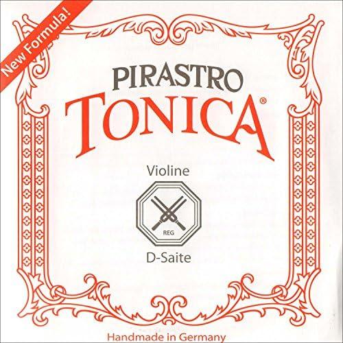 Pirastro Tonica 4 4 Violin D String Aluminum Synthetic Medium Gauge product image