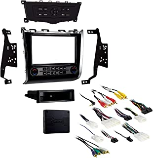 Metra 99-7627HG Single/Double DIN Dash Kit for Select 2013- Nissan Pathfinder Vehicles (Black)