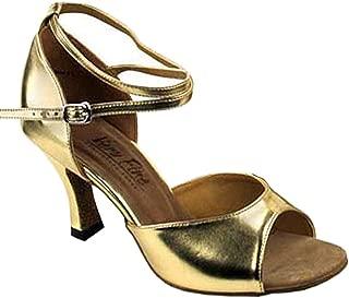 Women's Ballroom Dance Shoes Tango Wedding Salsa Shoes 6012EB Comfortable-Very Fine 2.5