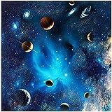YsKYCp Puzzle 1000 Piezas,Blue Fantasy of Outer Space Range para Niños Regalo para Adultos Paisaje Carácter Animal Decoración del Hogar 3D Coleccionables Brain Puzzle Games