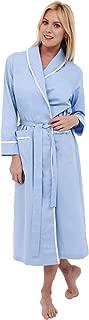 Women's Lightweight Cotton Kimono Robe, Printed Summer Bathrobe