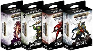 PlayFusion PLFW82507 Campaign Deck Assortment Warhammer Age of Sigmar Champions Collectible Card Game