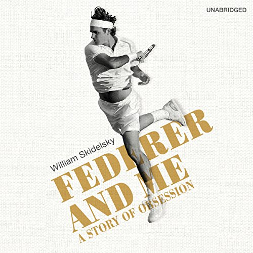 Federer and Me audiobook cover art