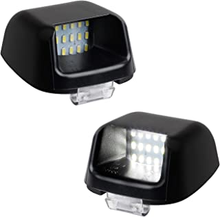RUXIFEY LED License Plate Light Rear Lamp Replacement Compatible with Suzuki Equator ACMAT ALTV