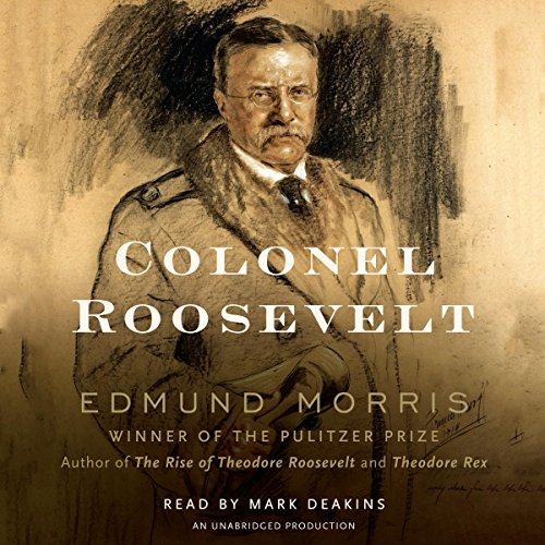 Colonel Roosevelt audiobook cover art