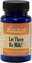Birth Song Botanicals Let There Be Milk Lactation Supplement with Organic Blessed Thistle, Liquid Capsules, 60 Count