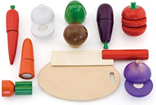 Viga Wooden Cutting Vegetables in a Box