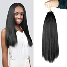 Authentic Synthetic Hair Crochet Braids Pre Looped Italian Perm Yaki 18