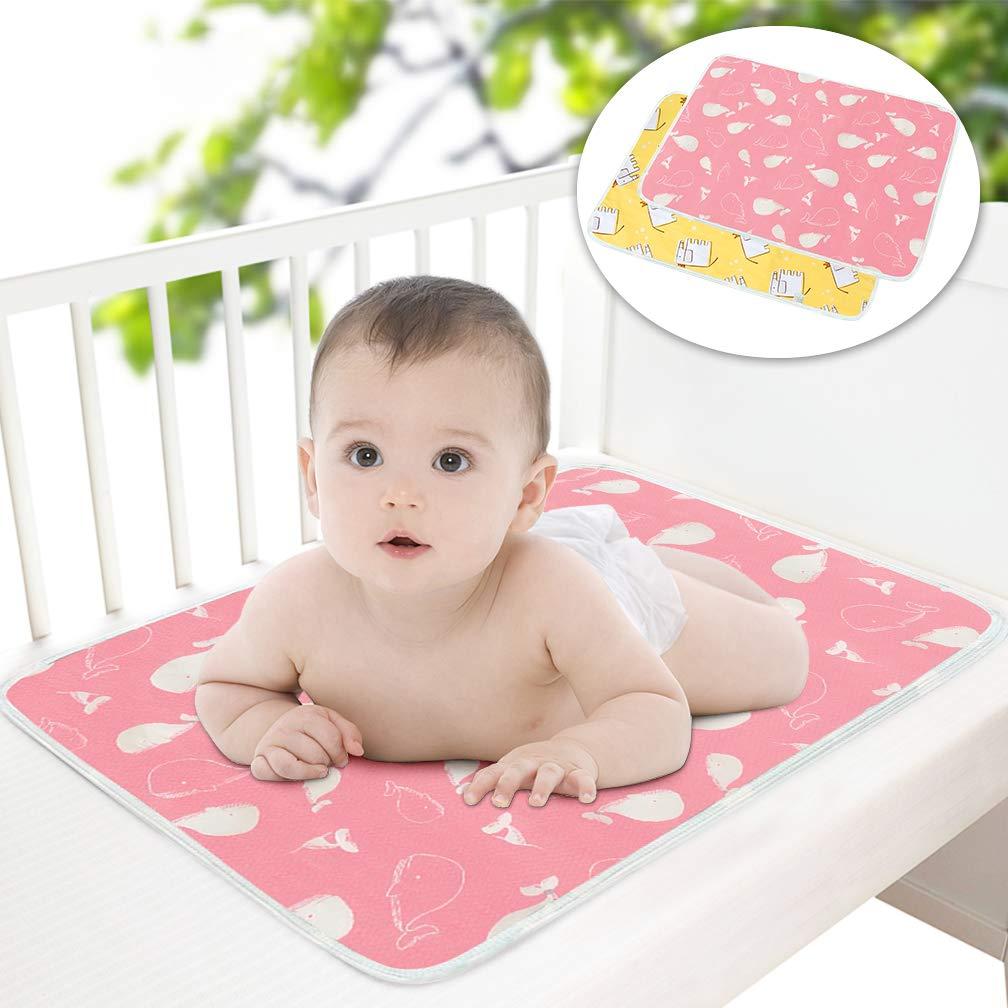 Popular brand 2 Pcs 5 ☆ popular Baby Diaper Changing Pad Newborns 27.6'' 19.7'' X Maveek