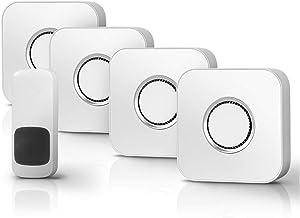 Draadloze Deur Open Deurbel Villa deurbel draadloos huis ultra-lange afstand afstandsbediening deurbel slimme elektronisch...