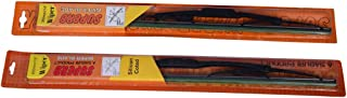 "Oshotto WBM-020 Superb Replacement Wiper Blade Assembly, 24""/16"" (Set of 2)"