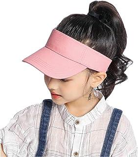 Kids Visor Sun Hat Adjustable Athletic Sports Hat