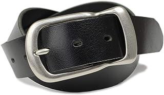 ベルト メンズ レディース カジュアル 日本製 シンプル 丈夫な 牛革 一枚革 馬蹄型バックル 37mm幅 ベルト専門店ベルトラボ BLLB0355