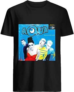 Aqua Aquarium Album Cover 18 T shirt Hoodie for Men Women Unisex